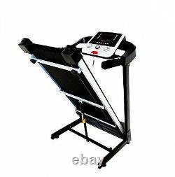 Fitness Tapis Roulant LCD Écran Tactile Mp3 1.8 HP Pour Usage À Domicile Cardio Pliable