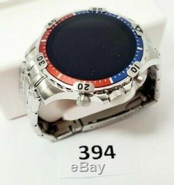 Fossil Gen 5 Garrett En Acier Inoxydable Écran Tactile Smartwatch Avec Haut-parleur Ftw4040