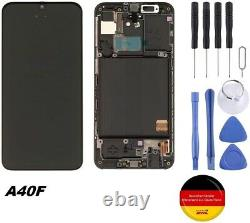 Für Original Samsung A40 Écran LCD À Écran Tactile Ersatzdisplay A40f Schwarz