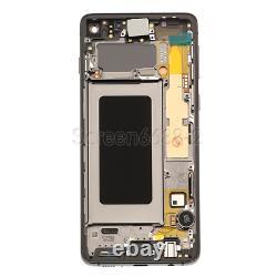 Für Samsung Galaxy S10 G973f LCD Display Écran Tactile Bildschirm+rahmen Schwarz