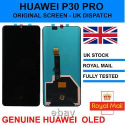 Genuine Huawei P30 Pro Affichage De Remplacement Screen Touch Vog-l09 L29 LCD Oled
