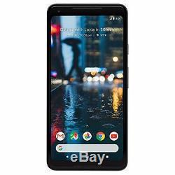 Google Pixel 2 XL 64gb'just -lcd Noir ' Burn-debloque Avec Garantie