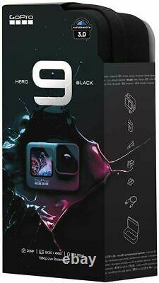 Gopro Hero9 Noir Fotocamera Sportiva Impermeabile Schermi LCD 5k 20 Mp 1080p