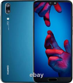 Huawei P20 Eml-l09 128 Go Midnight Blue Blau Ohne Simlock Single Sim Neu Ovp
