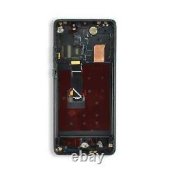 Huawei P30 Pro Affichage Écran Tactile LCD Schwarz Rahmen