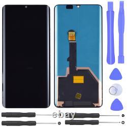 Huawei P30 Pro Oled LCD Display Bildschirm Glas Scheibe Écran Tactile Schwarz Neu