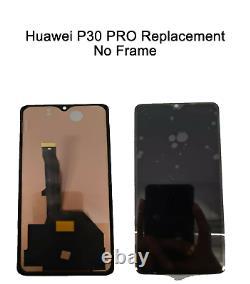 Huawei P30 Pro Vog-l09 L29 LCD Display Écran Tactile Numériseur Pas De Cadre