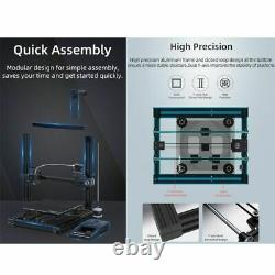 Imprimantes 3d Diy Kit Full Metal Large Printing Touch Screen LCD Filaments Sd Us