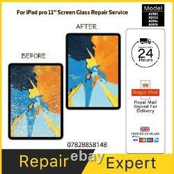 Ipad Pro 11 2018 Broken Cracked Screen Glass Replacement Repair LCD Refurbishing