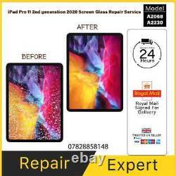 Ipad Pro 11 2020 Broken Screen Glass Reparation De Remplacement LCD Refurbish