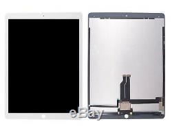 Ipad Pro 12,9 2015 Ecran LCD Tactile Weiß Mit IC Chip Bildschirm Glas