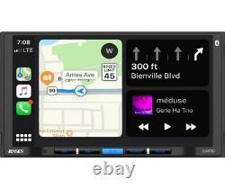Jensen Car710 Double Din 7 LCD Apple Carplay Multimedia Car Stereo Récepteur
