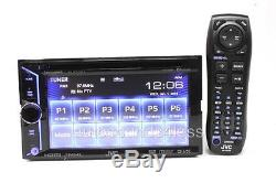 Jvc Kw-v30bt Double Din Lecteur DVD / CD 6.1 LCD Android Iphone Bluetooth Siriusxm