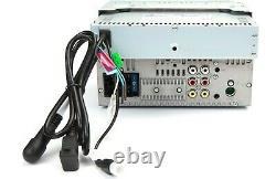 Jvc Kw-v66bt 2 Lecteur Dvd/cd Din 6.8 LCD Spotify Pandora Bluetooth Siriusxm