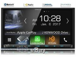 Kenwood Dmx7704s No CD LCD Écran Tactile Voiture Stéréo 2din Android Auto / Carplay