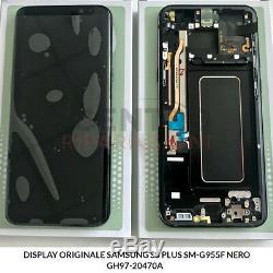 LCD À Écran Tactile Samsung Galaxy S8 Originale + Plus Sm-g955f Nero Noir