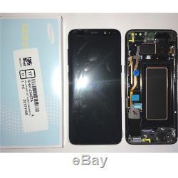 LCD À Écran Tactile Samsung Galaxy Schermo S8 Originale G950f Sm-g950f Nero