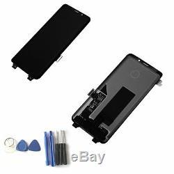 LCD Écran Tactile Bildschirm Für Samsung Galaxy S9 G960 Sm-g960f Schwarz