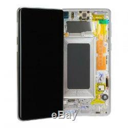 LCD Écran Tactile D'origine Samsung Galaxy S10 (g973f) Prisme Noir
