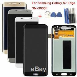 LCD Écran Tactile Digitizer Pour Samsung Galaxy S7 Bord G935f G935 / G930 S7