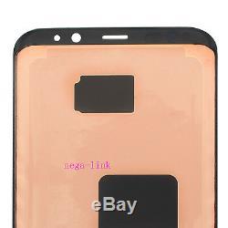 LCD Écran Tactile Pour Samsung Galaxy S8 Plus Sm-g955f Outils Noir + + Étui