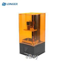 LCD Uv Imprimante 3d Diy Rapide Slicing Sla Photopolymérisation Écran Tactile 250ml Uv Résine