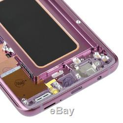 LCD Violet Écran Tactile Digitizer Assemblée Avec Cadre Pour Samsung Galaxy S9 Plus