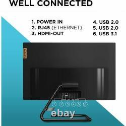 Lenovo Ideacentre 24are05 23,8 Pouces 1 To 8 Go Ram Noir