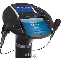 Machine De Chant Bluetooth Pedestal Karaoke System Resting Tablet Cradle 7lcd