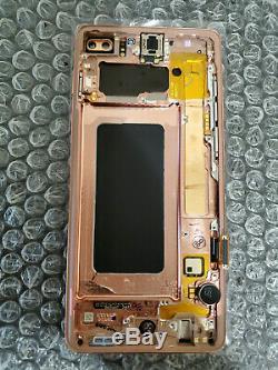Marque Nouveau Samsung Galaxy S10 Plus LCD À Écran Tactile Digitizer Cadre G975