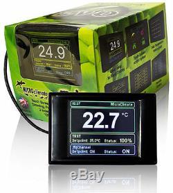 Microclimate Evo Ecran Tactile Numérique Thermostat Vivarium Reptile Prime Stat