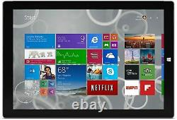 Microsoft Surface Pro 3 12,3 4 Go Ram 128 Go Ssd Argent Mq2-00001