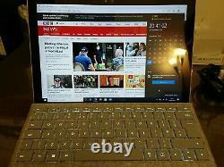 Microsoft Surface Pro 4 Intel Core I5 Quad-core 4 Go De Ram Ssd 128 Go, Rechercher Mint