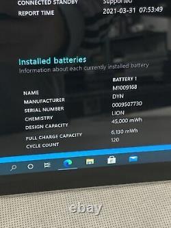 Microsoft Surface Pro 5 12.3 2.6ghz, I5, 128 Go Wi-fi Tablet Silver Lire