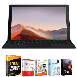 Microsoft Surface Pro 7 12,3 I5-1035g4 8 Go/256 Go + Garantie Prolongée Qwv00007