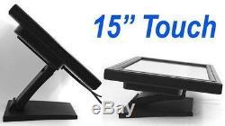 Moniteur De 15 Pouces Alloxx 15 LCD À Écran Tactile LCD Vga Pos