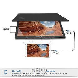 Moniteur Tactile Portable 15,6 Pouces 1920 × 1080 Full Hd Ips Écran LCD Hdmi