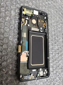 Monnaie Samsung Galaxy S9 Plus G965u G965 LCD Digitizer Cadre Écran Tactile Noir