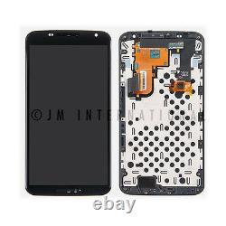 Motorola Google Nexus 6 Xt1100 Xt1103 LCD Écran Tactile Digitizer Frame Assembly