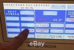 Mtg Timegrapher 9900a Montre À Écran Tactile LCD Coaxial LCD Timegrapher Automic + Imprimante