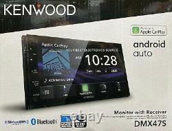 New Kenwood Dmx47s 2-din Médias Numériques Stéréo, 6.8 Lcd, Android Auto, Carplay
