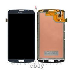 Noir Samsung Galaxy Mega 6.3 I527 I9200 I9205 LCD Touch Digitizer Écran Avant