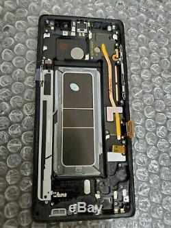 Noir Samsung Galaxy Note 8 Note8 N950 LCD Écran Tactile Digitizer Cadre