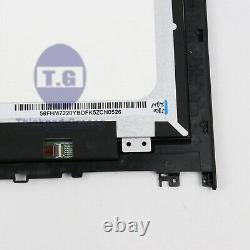 Nouveau 15.6 LCD Led Touch Écran + Cadre D'assemblage De Lunette Pour Lenovo Edge 21580 80qf