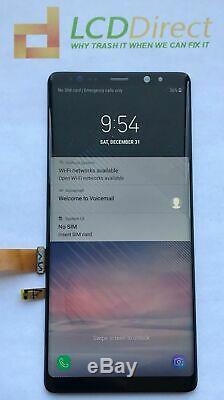 Nouveau Convertisseur Analogique-numérique À Écran Tactile Avec Cadre Noir Samsung Galaxy Note 8