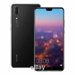 Nouveau Huawei P20 128 Go 4g Lte (gsm Déverrouillé) 5.8 LCD 20mp Smartphone Eml-l09