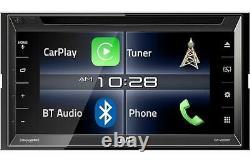 Nouveau Lecteur Dvd/cd Jvc Arsenal Kw-v820bt 6.8 Écran Tactile LCD Bluetooth Pandora