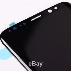 Nouveau Remplacement De Convertisseur Analogique-numérique D'écran Tactile D'affichage À Cristaux Liquides De Samsung Galaxy S8 Plus D'oem