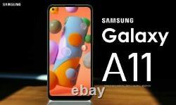 Nouveau Samsung Galaxy A11 Blue 32 Go Sm-a115f/ds 6.4 LCD 13mp Dual Sim Smartphone