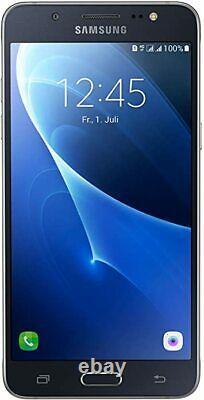 Nouveau Samsung Galaxy J5 2016 Noir 8 Go 5,2 LCD 4g Lte Gps Déverrouillé Smartphone Royaume-uni